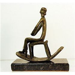 Henry Moore  Original, limited Edition  Bronze- Woman in Chair-