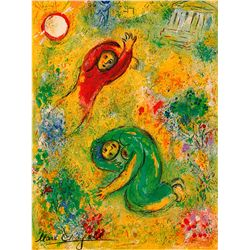 Trampled Flowers- Chagall - Limited Edition on Canvas