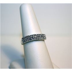 Ladies 14k White Gold Diamond Ring