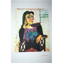 Limited Edition Picasso - Portrait of Dora Maar Seated - Collection Domaine Picasso