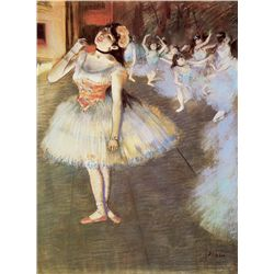 The Star - Edgar Degas - Limited Edition on Canvas