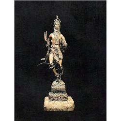 Bronze Sculpture - Gift Dancer by Kauba