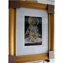 Salvador Dali Signed Limited Edition - The Virgin Of Guadalupe