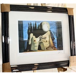 Salvador Dali Signed Limited Edition - Labrynth