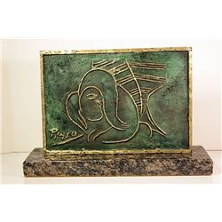 Pablo Picasso  Original, Limited Edition Bronze - Pensative Woman