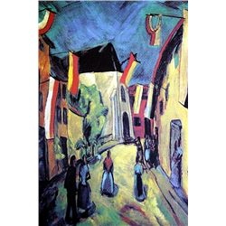 Erich Heckel - Chorpus Christi in Bruges - Limited Edition on Paper