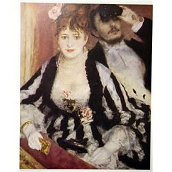 The Loge by Renoir