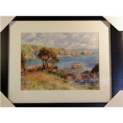 Pierre August Renoir  Limited Edition-View at Guernsey
