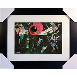 Wassily Kandinsky Limited Edition-Around the Circle