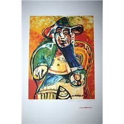 Limited Edition Picasso - Seated Old Man - Collection Domaine Picasso
