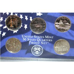 2001-S US Mint State Quarter Proof Set