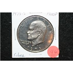 1973-S Eisenhower $1, Silver Proof