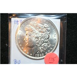 1885 Silver Morgan $1, BU