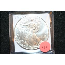 1996 Silver Eagle $1