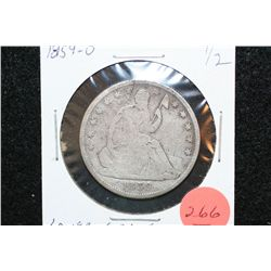 1859-O Seated Liberty Half Dollar, Lower Grade