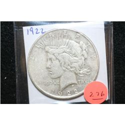 1922 Peace $1
