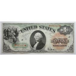 1869  $1 US legal tender note  Solid XF/AU