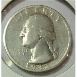 1932-S WASHINGTON QUARTER VG-F