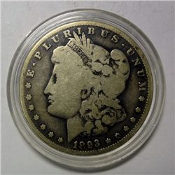 1893-O MORGAN DOLLAR VG