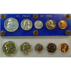 1959 & 1960 U.S. PROOF SETS IN PLASTIC HOLDERS