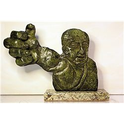 David Alfaro Siqueros  Original, limited Edition  Bronze - Revolutionary Protest