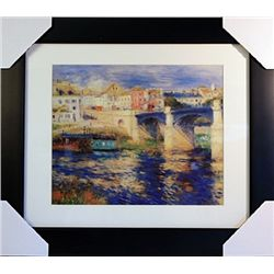 Pierre August Renoir  Limited Edition-The Bridge at Chatou