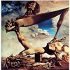 Image 1 : Soft Construction With Boiled Beans - Dali - Limited Edition on Canvas