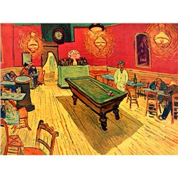 Rec Room- Van Gogh - Limited Edition on Canvas