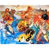 Image 1 : Tuna Fishing - Dali - Limited Edition on Canvas