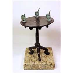 Salvador Dali Enchanting Limited Edition Bronze SUN TABLE