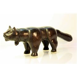 Botero   Original limited Edition Bronze Sculpture -Cat