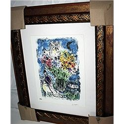 Chagall   Limited Edition - Night Bouqet