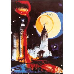 Manhatten Skyline - Dali - Limited Edition on Canvas