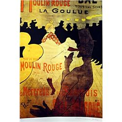 Limited Edition Lautrec- Moulin Rouge - Collection Domaine Lautrec