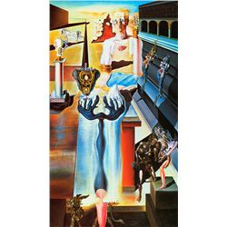 The Invisible Man - Dali - Limited Edition on Canvas