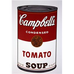 Campell's Soup (Tomato) by Andy Warhol