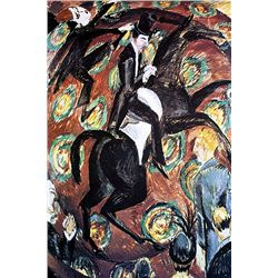 Ernst Ludwig Kirchner - Circus Rider - Limited Edition on Paper