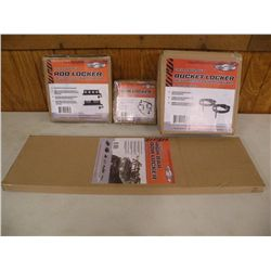 Cycle Country ATV high bar rack kit: gun holder, bow holder, rod locker & bucket holder  MSRP $199.9