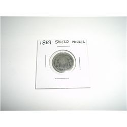 1869 Shield Nickel Nickel *PLEASE LOOK AT PICTURE TO DETERMINE GRADE - NICE COIN*!!