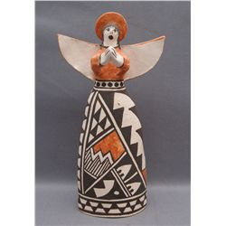 ACOMA POTTERY ANGEL  (FREE SHIPPING THIS AUCTION ONLY!!!)