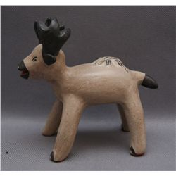 COCHITI POTTERY DEER   (FREE SHIPPING THIS AUCTION ONLY!!!)
