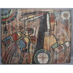 HOPI PAINTING   (FREE SHIPPING THIS AUCTION ONLY!!!)