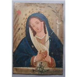 MEXICAN RETABLO   (FREE SHIPPING THIS AUCTION ONLY!!!)