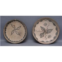 TWO SANTO DOMINGO PLATES   (FREE SHIPPING THIS AUCTION ONLY!!!)