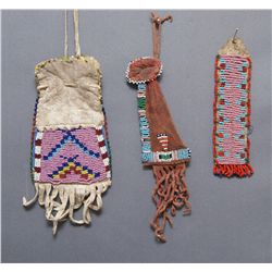 THREE PLAINS BEADED ITEMS   (FREE SHIPPING THIS AUCTION ONLY!!!)