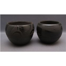 2 SANTA CLARA POTTERY BOWLS   (FREE SHIPPING THIS AUCTION ONLY!!!)