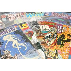 DC, Marvel & Image Comics; various dates & heroes, lot of 10