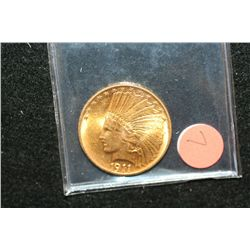 1911 Indian Chief $10 Gold Coin