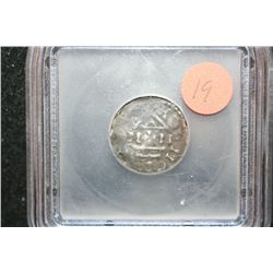 c.887-911 Germany Silver Mainz. Ar Denar Foreign Ancient Coin, ICG Graded VG8