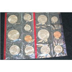 1981 US Mint Coin Set, P&D Mints, UNC